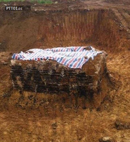 明朝「冥婚」棺木墓被挖掘4