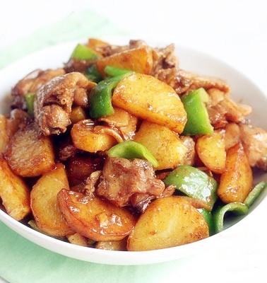 土豆燉雞腿