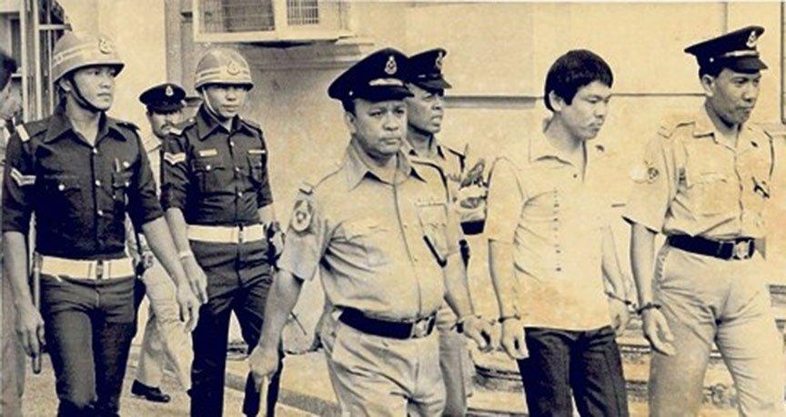 91928-他就是马来西亚七十年代的头号通缉犯!大盗莫达清!他一死,几千人为他哭泣!1
