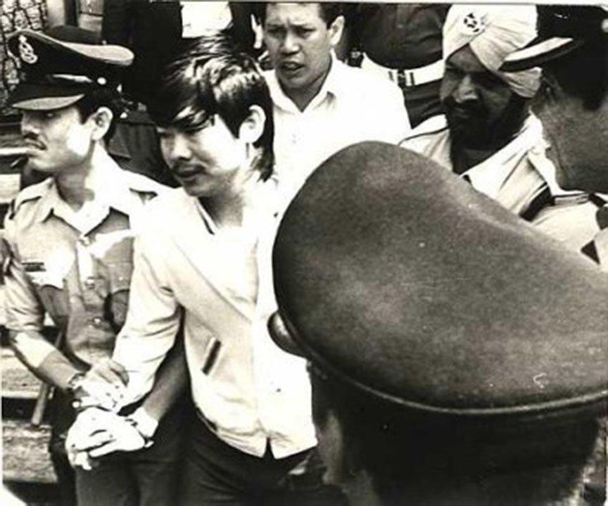 91928-他就是马来西亚七十年代的头号通缉犯!大盗莫达清!他一死,几千人为他哭泣!2
