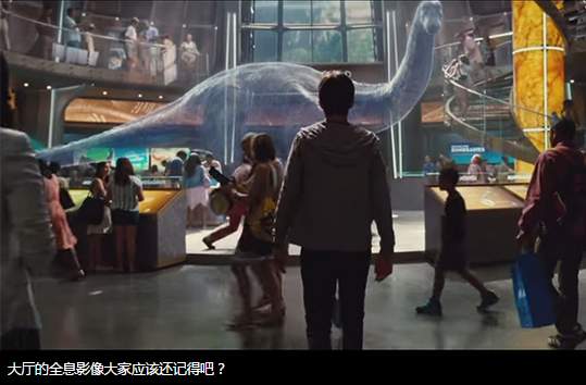 Jurassic world似曾相似的18个场景17