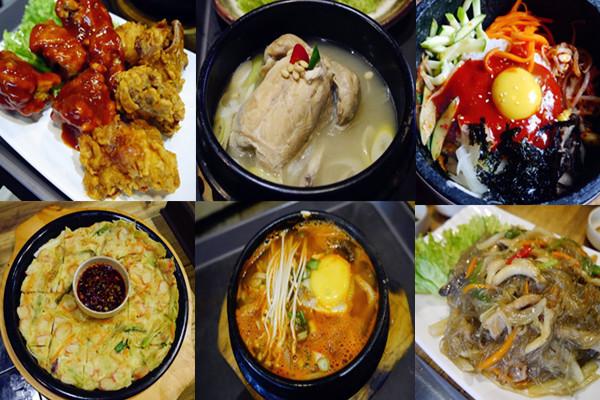 San Nae Deul BBQ Bistro buffet food food mix