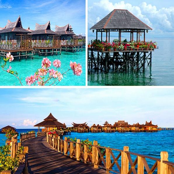 Mabul Water Bungalow: 【12个大马必住海上度假屋】和闺蜜或者爱人来个甜蜜浪漫之旅吧~