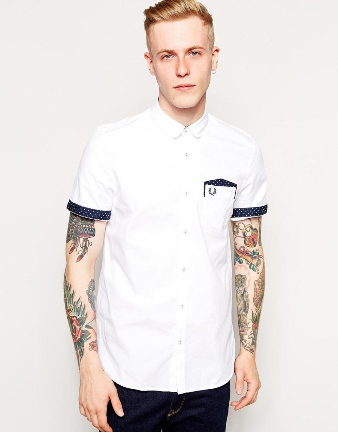 white-fred-perry-fred-perry-oxford-shirt-with-polka-dot-trim-screen