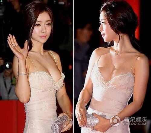 韩国女明星走红地毯都是这样拼的10