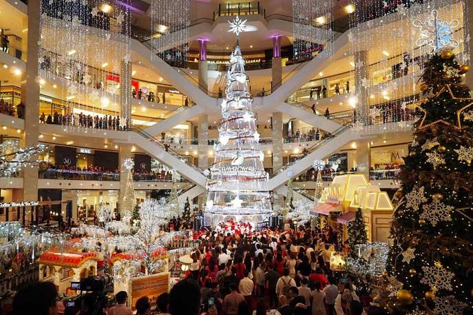 大马10家漂亮圣诞装饰商场1