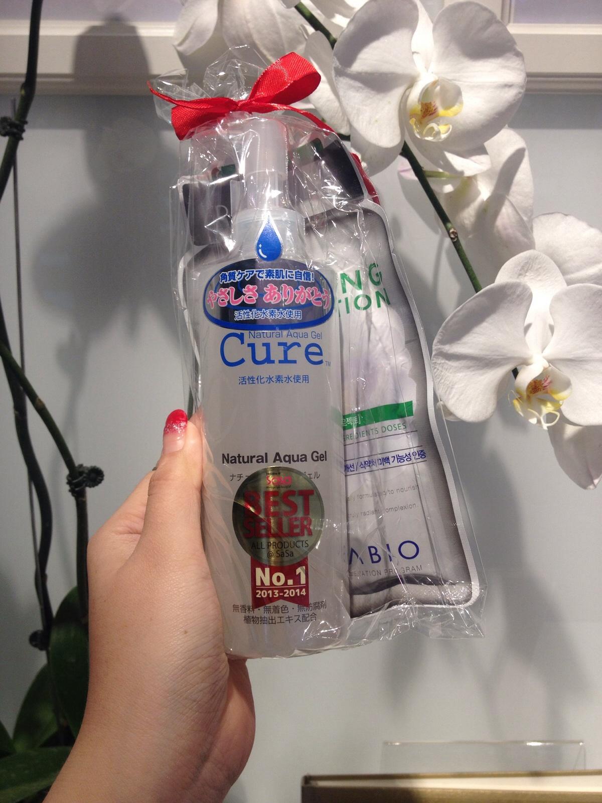 Cure Natural Aqua Gel Set!