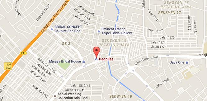 redliss ss2 google map