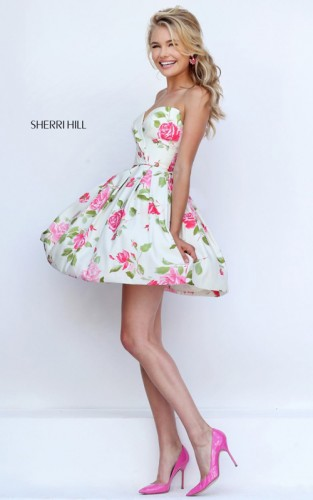 ivory-pink-floral-print-prom-dress-2016-sherri-hill-50116