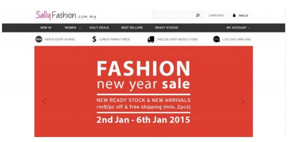 shopping sally fashion