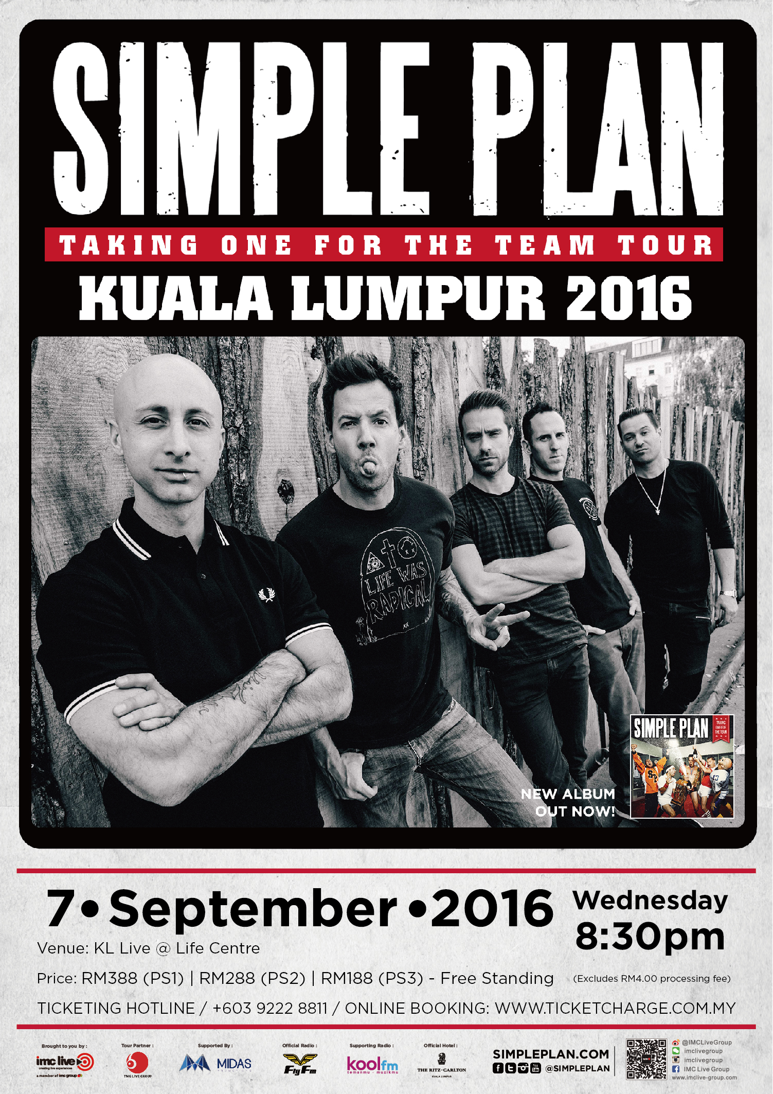 Simple Plan Official Poster_2