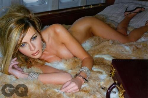 裸体超模Melania Trump将成为未来第一夫人