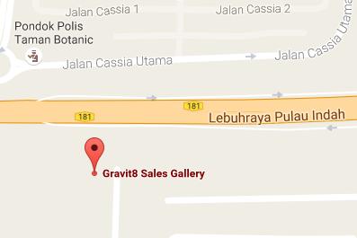 gravit9 googlemap